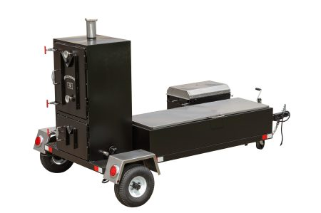 Kendale Products - BX50T Cabinet Smoker Trailer
