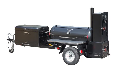 Kendale Products - TS120 Barbeque Smoker Trailer