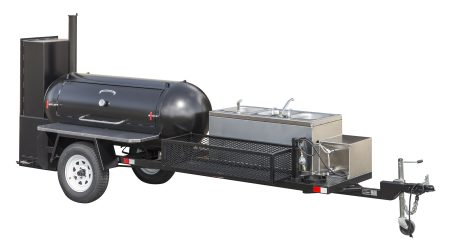 Kendale Products - TS250 Barbeque Smoker Trailer