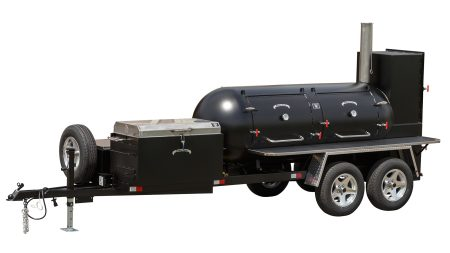 Kendale Products - TS500 Barbeque Smoker Trailer