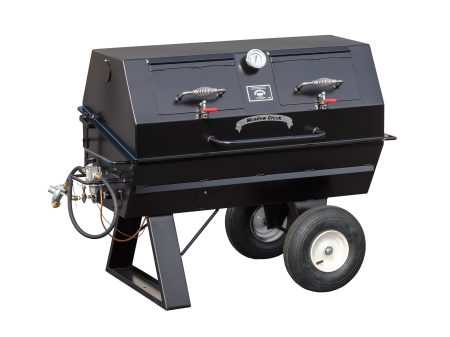 Kendale Products - PR42G Gas Pig Roaster With Optional Doors In Lid