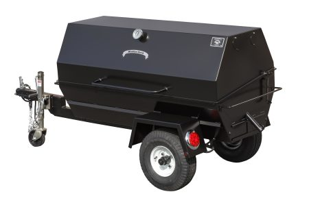Kendale Products - PR60T 60″ Charcoal Pig Roaster Trailer