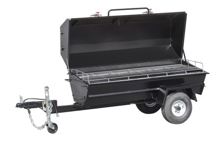 Kendale Products - PR72T 72″ Charcoal Pig Roaster Trailer