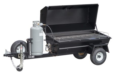 Kendale Products - PR60GT 60″ Gas Pig Roaster Trailer