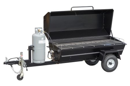 Kendale Products - PR72GT 72″ Gas Pig Roaster Trailer