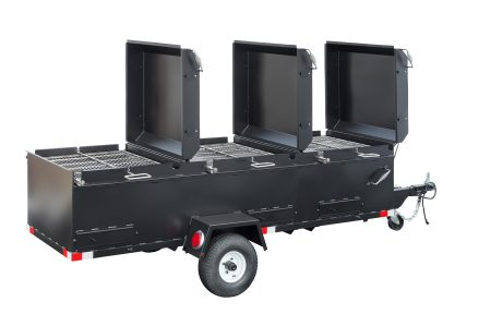 Kendale Products - BBQ96 Chicken Cooker Trailer (3 Pit)