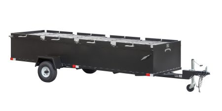 Kendale Products - BBQ144 Commercial Chicken Cooker Trailer (4 Pit)